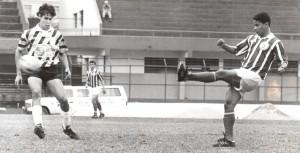 Sport Luciano, lateral esquerdo que veio das divisões de base do Vasco para o Sport. 4 de setembro de 1993