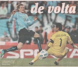 Uruguai 25.07.11 -Celeste conquista Copa América pela 15ª vez com vitória sobre o Paraguai que coroa Suárez e Forlán