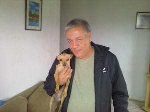 cachorro Yasmin quando chegou em 2012 2