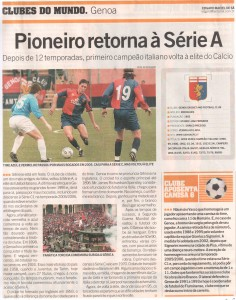 esportivas Genova