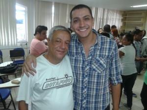 ex alunos Eu e Pedro Henrique Carpanês (2015)