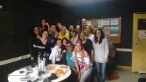 ex alunos Turma do Mergulhão de Rádio 2015