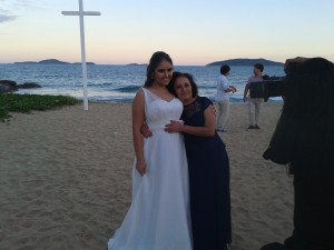 familia Dona Gê e Viviane (casamento 2015)