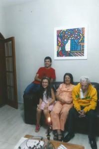 pessoais Creusa, Mário e família