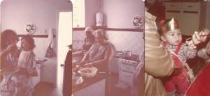 pessoais Creusa e Simone. Mãe e Luzia