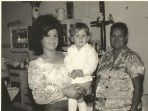pessoais Eloísa, Carlinhos e Tia Geralda
