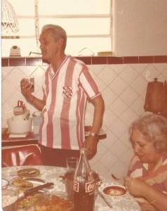pessoais Meu pai e a paixão pelo Bangu
