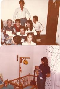 pessoais Meus primos com minha avó Irene