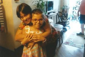 pessoais Minha irmã Márcia e Nina, sobrinha
