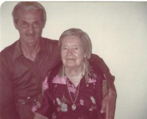 pessoais Vovó Irene e Velho Nízio