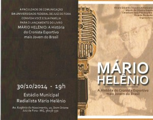 pessoias Convite lançamento Livro Mário Helênio