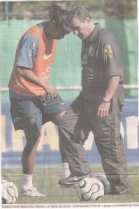 seleção Ronaldinho Gaúcho e Parreira