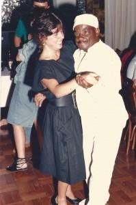 sport Regina Campos e João, torcedor símbolo