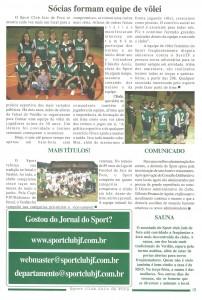 sport edição de Julho de 2007 do Jornal do Sport 3