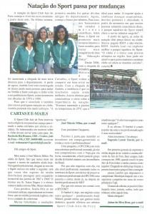 sport edição de Julho de 2007 do Jornal do Sport 4